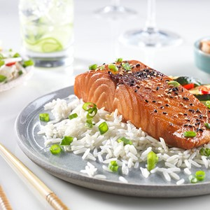 Korean Glazed Salmon