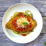 A Taste of Tuscany with Tilapia Crusted Parmesan